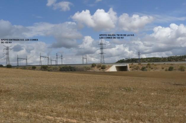 Informe optimització traçat L220kV subestació Espluga de Francolí