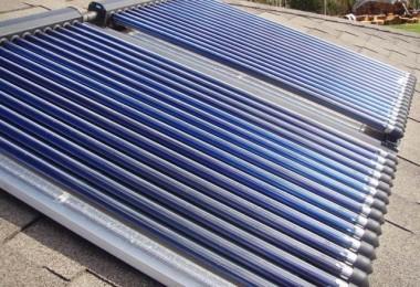 Proyecto e instalación de placas solares térmicas en un edificio de vivendas en Vallvidrera