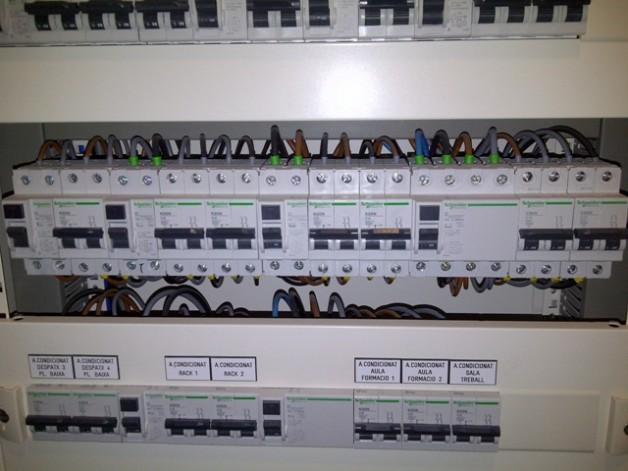 Projecte elèctric per l'ampliació del Quadre Elèctric oficines Grup Blauclínic