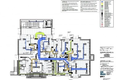 Realització de projecte d'instal·lacions per una església a A Corunya