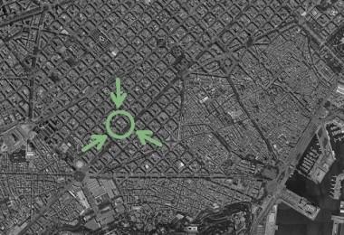 Finalistas en el concurso la Illa Eficient para la implantación de mejoras energéticas en una manzana del Eixample de Barcelona. Proyecto P.O.M.A.