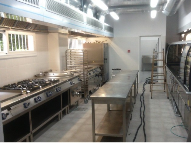 Realización de proyectos técnicos de legalización de las instalaciones de gas y electricidad de diferentes cocinas para la empresa Aramark.
